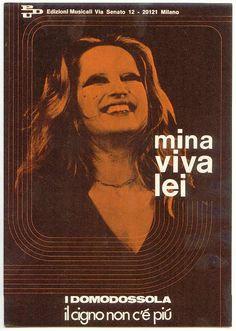 "Mina (spartito / sheet music) ""viva lei"""
