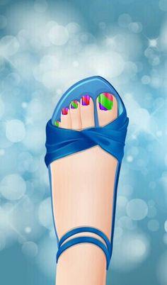Good design of toe nails