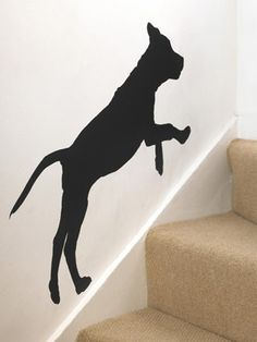 Love this dog silhouette!