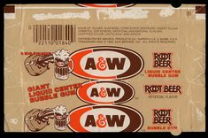 Root Beer Gum..used to love this!