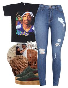 """""""."""" by renipooh ❤ liked on Polyvore featuring MCM and Puma"""