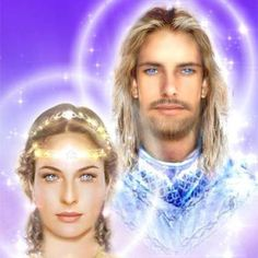 Elohim Arcturus and his Divine Complement Lady Victoria (Diana)