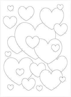 Heart (Coloring Page) Coloring pages are a great way to end a Sunday ...
