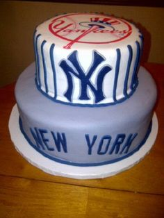 136 Best Yankees Cakes Images In 2014 Yankee Cake