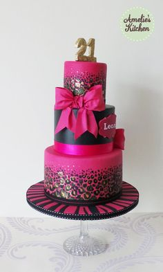 Birthday Cake Ideas For 21 Year Old Female 21st Cakes