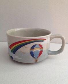 Vintage 1970s Otagiri Stoneware Soup Mug by Relikology on Etsy