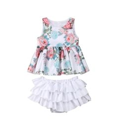 8b6abfe2a6b73 13 Best Baby Girls Outfits images in 2019 | Baby boutique, Baby shop ...