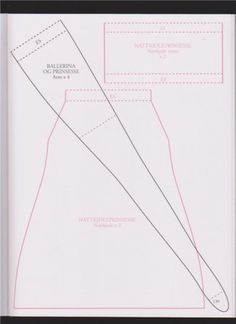 Тильда Принцесса: выкройка кулы из книги Tone Finnanger «Tildas Vintereventyr»