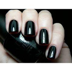 opi gel Black onyx