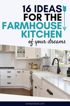 Learn more about 16 Ideas for the Farmhouse Kitchen of Your Dreams. Wanting to give your farmhouse kitchen a cozy and inviting vibe? We hear you! So don't settle for a typical farmhouse kitchen layout and do some magic. Annie and Oak is the real expert in farmhouse kitchens. Here are some tips and inspirations that will surely take your farmhouse kitchen experience to another level. Shop now at annieandoak.com and design your farmhouse kitchen like a pro.