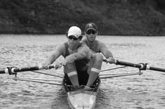 Pair rowing on Settler's Dam, near Grahamstown, South Africa Rowing Crew, South Africa, Southern, University, Muscle, Adventure, Pictures, Photos, Muscles
