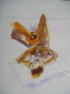 The Dreamer, inks on paper