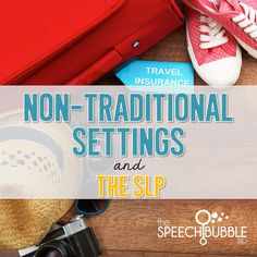 Wondering about SLPs who work outside of traditional spaces? Here's some info from SLPs in non-traditional settings, for SLPs in non-traditional settings.
