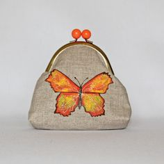 Hand Painted Butterfly Purses £13.00