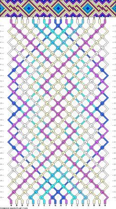 18 strings, 8 colors, 32 rows