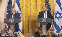 First Press Conference with President Trump and PM Netanyahu Heralds New Era of Friendship between America and Israel