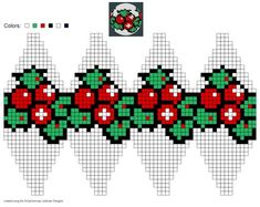 created using Schachenmayr #Julekuler Designer #christmas | Possible Fair Isle knitting ball design