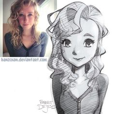 Current pencil portrait commission information my how i draw yt videos my f Cartoon Cartoon, Photo To Cartoon, Cartoon People, Cartoon Sketches, Art Sketches, Art Drawings, Awesome Drawings, Art And Illustration, Character Illustration