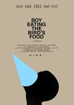 #boy eating the bird's #food by ifigenia vasiliou #poster