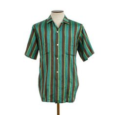'60s Striped Silk Woven Shirt, $80, now featured on Fab.