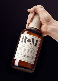 """RM Rum packaging by Alexey Malina Studio""""RM is a blend of several rums of the Caribbean which undergoes it's final ageing in the North of Italy in three different casks: acacia, Swiss oak, and, finally, cherry. The unusual cask strength of 56,8% is achieved by presence of an overproof rum.In the packaging design we tried to reflect the author's approach and unusual strength of rum. For this purpose we used a symbol of a bomb in the title which also helped us to reflect the name of the…"""