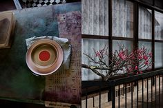 Porcelain by Scholten & Baijings in typical Japanese colours, such as aquarelle blue, light green, red-orange and yellow ochre...     The distinctive Japanese Arita porcelain that was used for this serie, is renowned for its superb quality, where fine hand-painted decorations play a central role. The tradition of porcelain painting dates back to 1616, when the abducted Korean potter Yi Sam-Sam-Pyeong discovered a superior quality clay in Arita.    Photos by inga powilleit