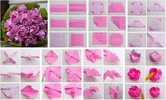 DIY Beautiful Origami Paper Roses