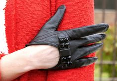 Short Leather Gloves 2013 Style Driving Gloves Fashion Gloves Fashion Accessories