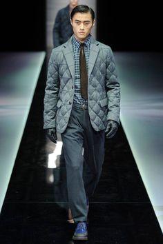 Giorgio Armani Fall 2013 Menswear Collection