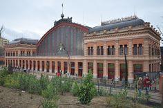 Estacion de Atocha, Madrid, Spain.