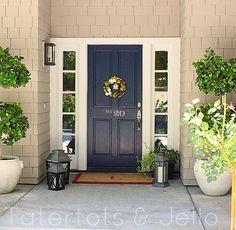 numbers on front door