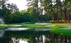 No. 16, my favorite hole at Augusta National.