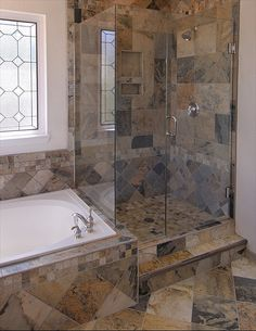 Houzz Bathrooms With Porcelain Look Slate