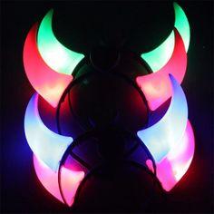Hot popular LED Flash Light Haloween Devil Horns Headband Cosplay for holiday celebration decoration Birthday Party Hats, Happy Birthday Parties, Blacklight Party, Horn Headband, Novelty Lighting, Glow Party, Rainbow Ribbon, Light Up, Flash Light