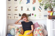 """When Joana first saw this space, pigeons were sleeping in the living room and walls wore wallpaper from the last century. It looked like the house in the film """"The Others."""""""