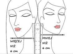 Sztuczka 6 cm (2.25 cala) określa długość włosów, jaka Ci pasuje