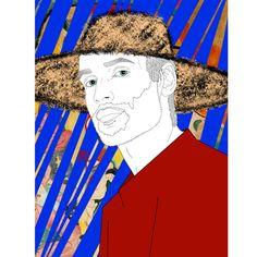 ummer.  A portrait of @jacquemus.  With La joie de vivre of Matisse. ☀️ ☀️ ☀️ 🍊 🍊 #art #artwork #artist #painting #digitalart