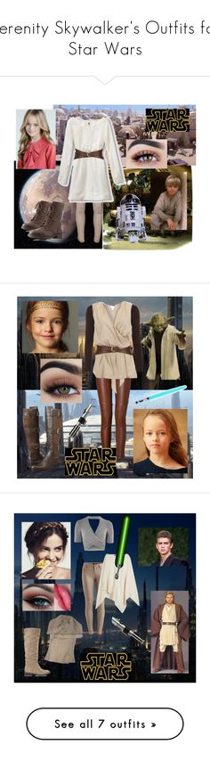 """""""Serenity Skywalker's Outfits for Star Wars"""" by ansleybug18 ❤ liked on Polyvore featuring rag & bone, Quiksilver, Neiman Marcus, R2, Charlotte Russe, A.L.C., WearAll, 2Love TonyCohen, Cole Haan and Topshop"""