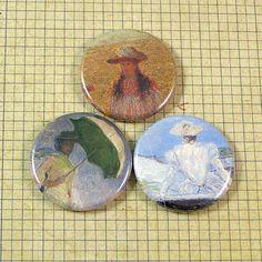 Impressionist Art Magnet Set by XOHandworks