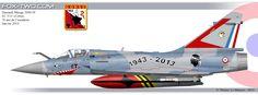 Dassault Mirage 2000-5F de l'EC 3/11 Corse, anniversaire des 70 ans.