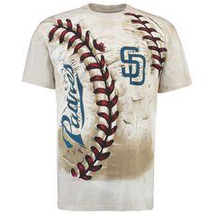 MLB San Diego Padres Hardball Tie-Dye T- Shirt - Cream
