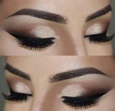 champagne eye makeup