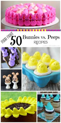 Bunny Butt Almond Joy Cheese Ball & FOOD FIGHT: Bunnies vs. Peeps - Will Cook For Smiles