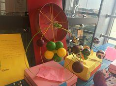 Lise öğrencilerimizin hazırladığı atom modelleri