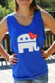 Future First Lady  - Red, White and Better Than You Tank - $19.99 - www.FutureFirstLady.net