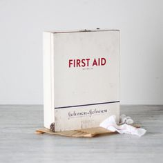 Antique First Aid Cabinet