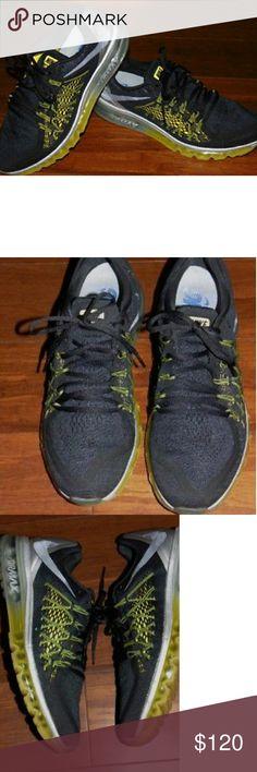 a60014f268fc1c Nike Air Max 2015 Mens Sz 11 698902-070 Black Blck Nike Air Max