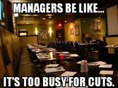 Server humor - literally my work 100% of the summer season