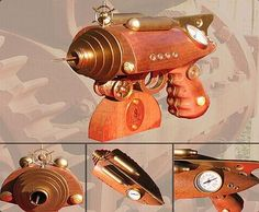 Steampunk Guns plucked from one era for another : Gizmowatch