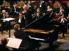 K. Zimmerman (1984) - J. Brahms' Piano Concerto No. 1, op. 15, L..Bernstein cond. Wiener philarm.